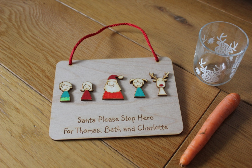 personalised christmas gifts and signs