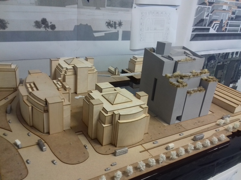 Architectural Laser Cut Model