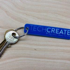 acrylic key fobs